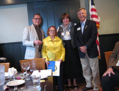 Ridgefield Rotary Celebrates Eight New Members
