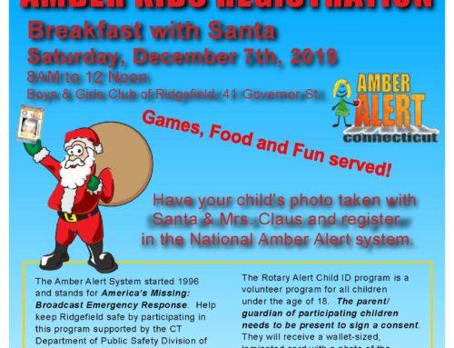 Amber Alert Registration