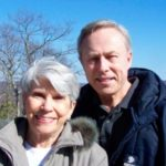 Image from Mr. Steele's website shows the author and his wife, Betsy, with the Connecticut River in the background.