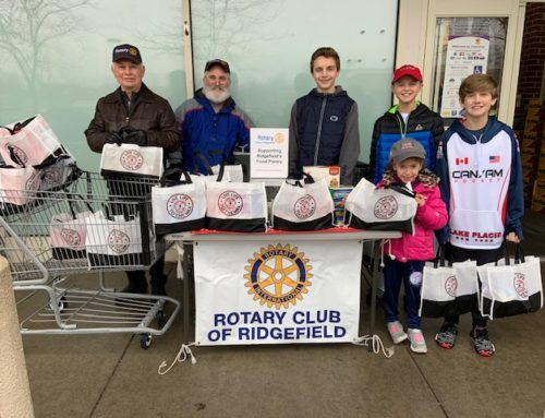 Jan 4th Rotary Food Drive collected a record breaking  $18,689 in food, cash, and S&S cards.