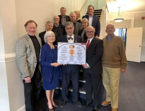 Ridgefield Rotary recognized for 'End Polio Now' campaign